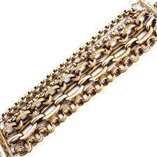 multi metal bracelet images Catherine popesco large multi chain gold bracelet jpg