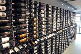 gallery of free standing commercial wine racks at wine cellar depot