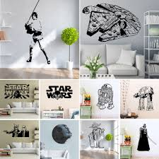 online get cheap playroom wall stickers aliexpress com alibaba plus size star wars wall sticker living room kids playroom mural decal home decor artwork children s