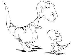 animal printable cute t rex coloring pages coloring tone