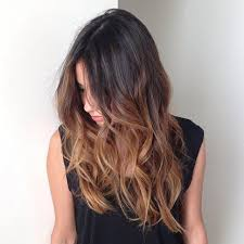 embray hair medium brown to blonde ombre hairstyle for women man