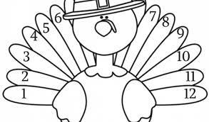 turkey coloring pages print 06720