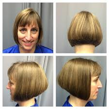 modified stacked wedge hairstyle hair salon haircuts womens haircuts mens haircuts childrens