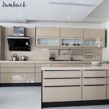 lacquered glass kitchen cabinets polished modern modular lacquer kitchen cabinet with glass front cabinets buy lacquer kitchen cabinet modular kitchen design glass kitchen