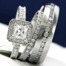 cheap his and hers wedding rings wedding rings wedding rings sets at walmart trio wedding ring