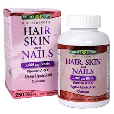 nature u0027s bounty high strength hair skin u0026 nails food supplement