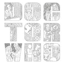 pretty design dr who coloring pages 8 remarkable ideas doctor who