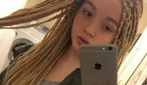 hairstyles for 12 year old girls 2015 12 year old white girl gets blasted online for box braids the
