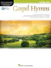 Play The Old Rugged Cross Gospel Hymns For Violin Instrumental Play Along Hal Leonard Online