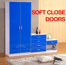 White High Gloss Bedroom Furniture Gladini High Gloss 3 Piece Bedroom Furniture Set Includes
