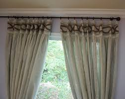 Burlap Grommet Curtains Burlap Curtains For Sliding Glass Door Decorate The House With