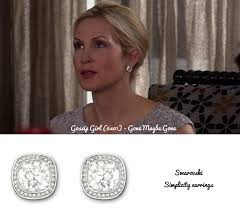 gossip girl earrings from the valley to the east side der woodsen s