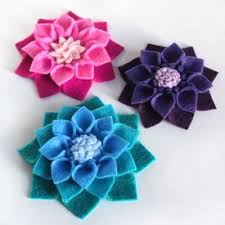 felt flowers how to make no sew felt flowers ofs maker s mill