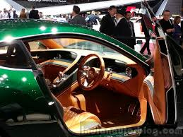 bentley exp 10 interior bentley exp 10 concept dashboard view at 2015 geneva motor show