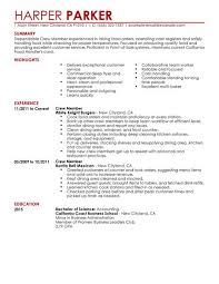 Examples Of Resumes For Restaurant Jobs by Resum Example Create My Resume Best Server Resume Example