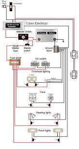 teardrop camper wiring schematic lonely teardrops pinterest