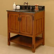 Mission Style Vanities Awesome Craftsman Style Bathroom Houzz Pertaining To Craftsman