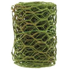 moss ribbon moss green foam covered large wire ribbon 4 hobby lobby 785923