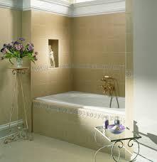 Alcove Bathtub Furniture Home Small Apartment Bathroom Decorating Ideas Alcove