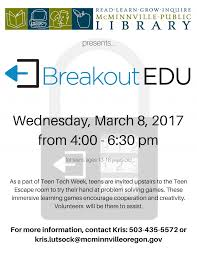 Mcminnville Oregon Map by Breakout Edu For Teens Mcminnville Oregon