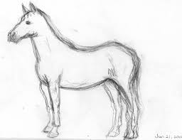ideas of draw realistic horses best photos of good horse drawings