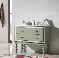 Single Sink Bathroom Vanity by Abel 40 5 Inch Single Sink Bathroom Vanity Lime Green Finish