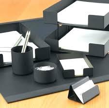 Desk Sets For Home Office Modern Desk Organizer Modern Desk Accessories Set Office Home