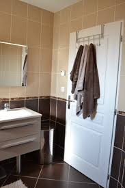 si e de bain pour b salle de bain chocolat et beige systembase co