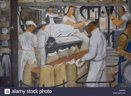 Coit Tower Murals Diego Rivera by Wpa Mural In The Lobby Of Coit Tower In San Francisco Details
