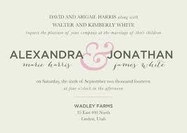 Wedding Invitations Utah Wedding Invitation Wording Elite Wedding Looks