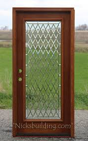 All Glass Exterior Doors Exterior Mahogany Single Doors
