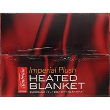 best black friday deals eletric blanket sunbeam electric heated plush blanket walmart com