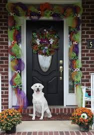 Deco Mesh Halloween Wreath Cousins Craft Weekend U2013 Part 3 U2013 Deco Mesh Garland With Guest