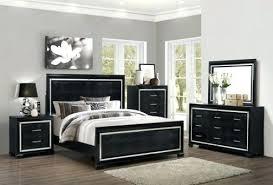 queen anne bedroom set black bedroom sets queen avenue black 5 queen upholstered bedroom