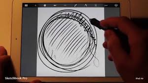sketchbook pro drawing app speed test on ipad air vs ipad 3 youtube
