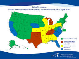 Map Of Florida Colleges by State Practice Environment For Certified Nurse Midwives Campaign