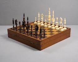 german u201cselenus u201d chess set 19th century luke honey decorative