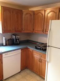 Paint Colors For Cabinets What Color Walls Oak Cabinets And Blue Green Countertops