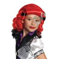 Abbey Bominable Halloween Costume Monster Wigs Accessories Kids Frankie Stein Hair Abbey