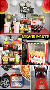 movie night party ideas moms u0026 munchkins