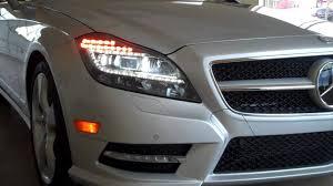 led intelligent light system 2012 cls550 mercedes benz led intelligent light system youtube