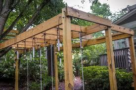 Backyard Ninja Warrior Course Outdoor Will 2x6 Cedar Be Ok For Monkey Bar Rails Home
