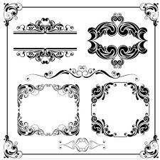 ornamental frames 20 ai format free vector vectorpage