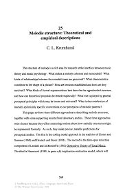 how to write an abstract for a research paper apa melodic structure theoretical and empirical descriptions springer melodic structure theoretical and empirical descriptions