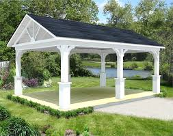 gable roof patio cover with wood stained ceiling half 18 vitrines