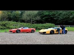 f430 vs lamborghini gallardo f430 vs lamborghini gallardo exhaust sounds