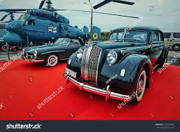 vintage opel car kyiv ukraine october 2017 vintage cars stock photo 729735304