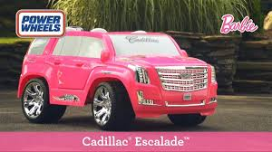 barbie power wheels cadillac escalade barbie power wheels 7 589 00 en mercado libre