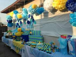 duck decorations baby shower ducky theme baby showers ideas