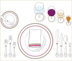 how to set a formal table when hosting a formal dinner party ensure that each piece is